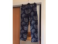 Gap and H&M trousers, size 10-12