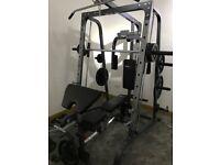 Smith machine + weights