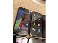10 x Motorola Moto XT1068 - Dual Sim - Unlocked