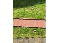 Decra Classic Pantile Metal Lightweight Roofing Tile/Sheet - Terracotta Red