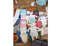 Clothes 0-3m and newborn for boy and girl
