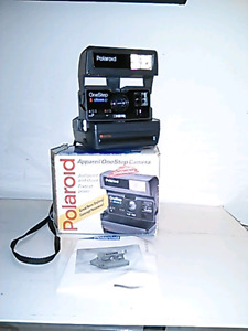 Vintage Polaroid Onestep Camera with box
