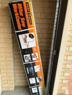 BRAND NEW MITRE SAW WORK BENCH CENTRE FOR SALE