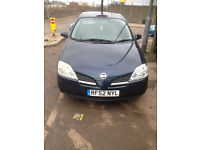 NISSAN PRIMERA 2003 PARTS FOR BREAKING FOR SPARES TEL 07814971951 WHEEL NUT ONLY