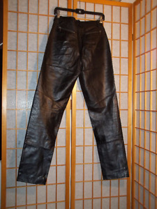 Women's Genuine Leather Pants