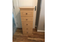 Two Bedside Cabinates/Chest of Drawers - £25