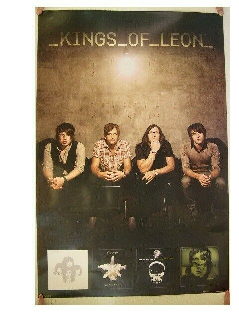 Kings Of Leon Poster Band Shot Commercial