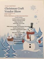 Christmas Craft  Vendor Show
