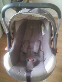 Silvercross Car seat & Pushchair for sale £45, smoke & pet free home, very sturdy