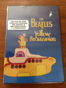 Unopened Beatles Yellow Submarine DVD - 1999