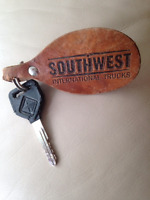 Found Key with leather key ring tag Mt McKenzie Drive SE