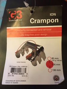 G3 Ion Ski Crampon 105mm NEW