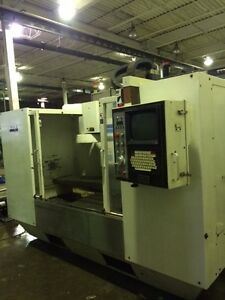 1997 Fadal 5020A HT CNC Machining Center VMC Milling Machine