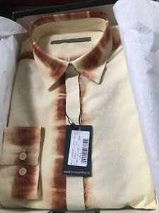 Valentino Design Mens XL Dress Shirt - NEW in BOX