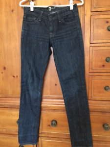 7 For All Mankind skinny jeans Size 24