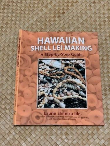 Hawaiian Shell Lei Making Shell necklace book with instructions 64 pg RARE
