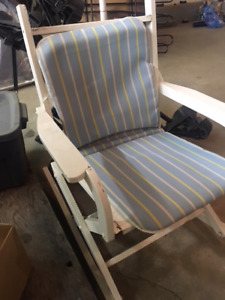 Small wood frame Rocking Chair