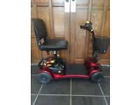 SHOPRIDER 4 WHEEL MOBILITY SCOOTER