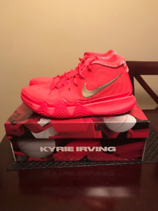 "Kyrie Irving Signature basketball shoes ""Red Carpet"" - $170"