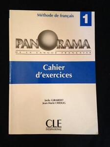 French textbook: Panorama Cahier d'exercices 1 Bellevue Hill Eastern Suburbs Preview