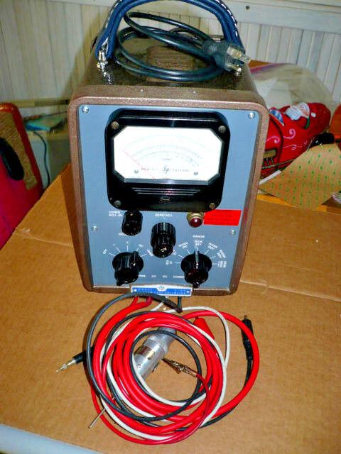 Repair Services HP 410B VTVM - $105.00