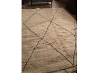 Thick and sumptuous Beni Ourain rug