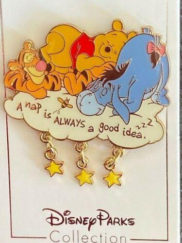 Shanghai Disney Resort SDR - Winnie The Pooh and Friends Tigger Eeyore Nap Pin