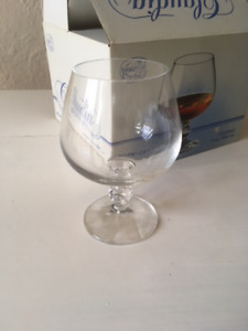 Crystal Brandy Glasses (set of 4)