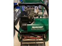 Qualcast Cylinder Lawn Mower & Scarifier.