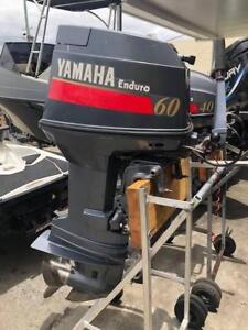 60hp Yamaha Enduro Outboard Motor