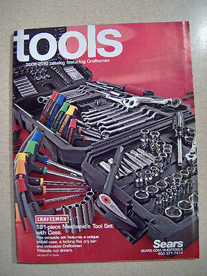 Craftsman Sears Tools and other makes Catalog 2009 - 2010  original