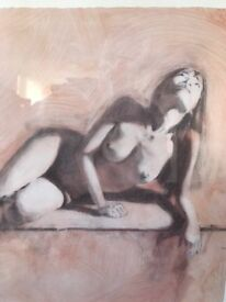 Limited edition nude prints x2
