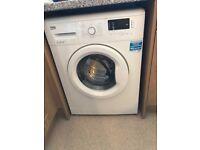 White washing machine new and hardly used