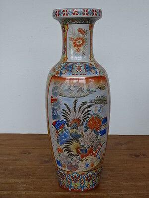 N2761  Porzellan Vase - chinesisch - China - ca. 60 cm - Bodenvase - Asien