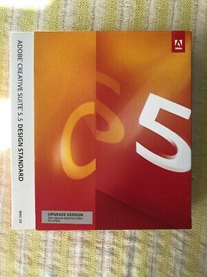Adobe Creative Suite CS CS5 5.5 Design Standard Upgrade Genuine Key Mac Boxed