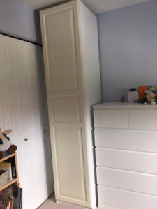 3 IKEA PAX Wardrobes - White  - $100 each