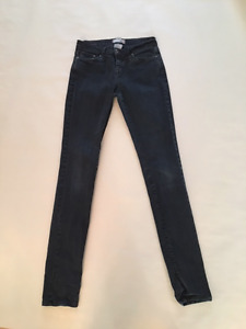 BDG Cigarette Jean Black Size 27 Urban Outfitters