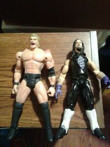 Sid and The Undertaker Wrestling Action Figures WWE TNA WCW