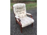 Parker knoll chair, £30