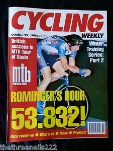 CYCLING-WEEKLY-ROMINGERS-HOUR-53-832-OCT-29-1994