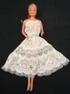Vintage Mattel Barbie Doll in lace dress 1978 - 1988 Phillipines Brassall Ipswich City Preview