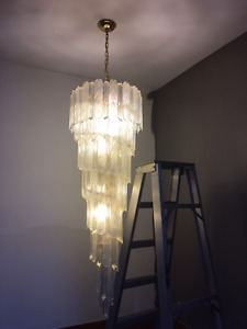chandelier 6 foot tall
