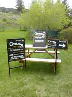 C21 Real Estate Signs & Metal Frames For Sale