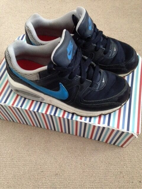 Boys Nike Air Trainers Size UK 2 -Good Condition