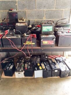 Wanted: Free Old car and truck batteries collection