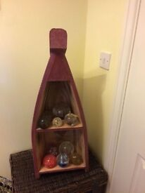 Lovely wooden boat shelf £20