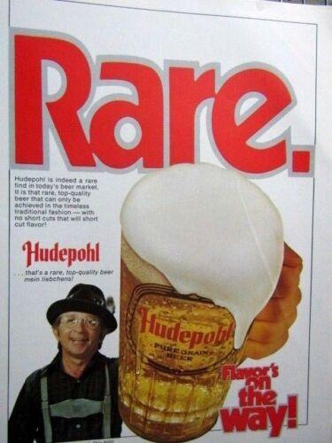 RARE Hudepohl Flavors On It