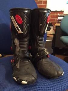 SIDI Vertigo Corsa Motorcycle boots - mens size 11.5US Rowville Knox Area Preview