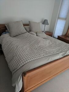 Full Wood Classic King Bed Set Surfers Paradise Gold Coast City Preview