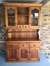 solid timber hutch/buffet Forestdale Logan Area Preview